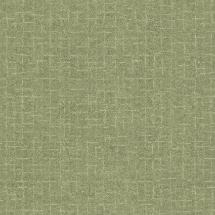 Woolies Flannel olive green tonal