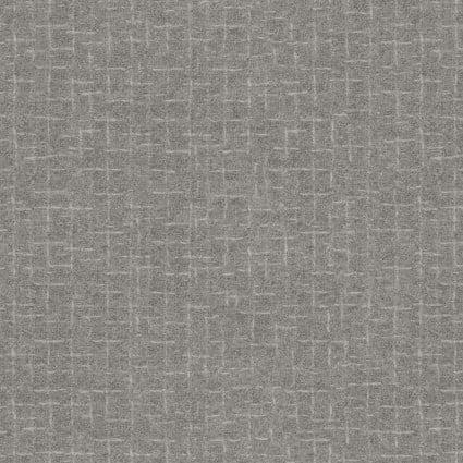 Woolies Flannel - Gray - Crosshatch