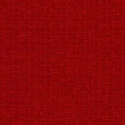 Woolies Flannel red tonal
