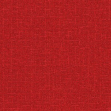 Woolies Flannel Crosshatch Red