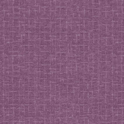 Woolies Flannel - Violet - Crosshatch
