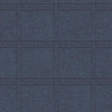 Woolies Flannel - Tartan Grid - Navy