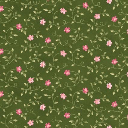 Wild Rose Flannel - MASF7893-gp