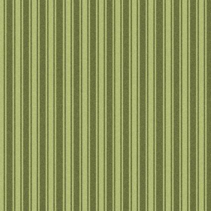 Wild Rose Flannel stripe green