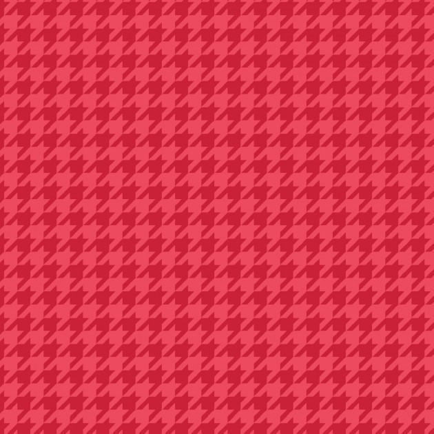 Lil' Sprouts Flannel Too Red Houndstooth