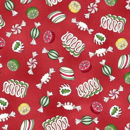 Maywood - Christmas Joys Flannel MASF9005-R