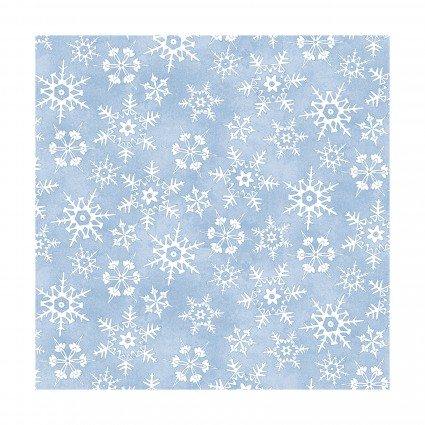 Christmas Joys Snowflakes Flannel