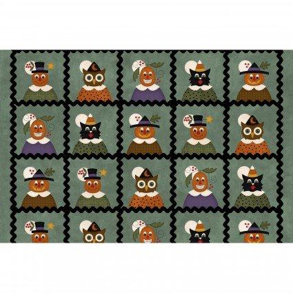Happy Jacks & Friends Flannel  Faces