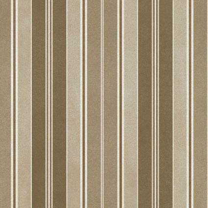 Heritage Woolies Flannel: Awning Stripe - Tan