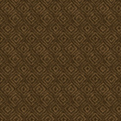 Heritage Woolies Flannel: On Point - Brown