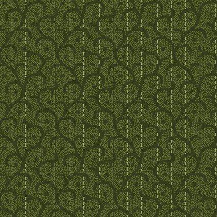 Heritage Woolies Flannel - MASF9423-G