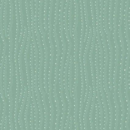 Saguaro Wavey Lines/Dots Light Teal