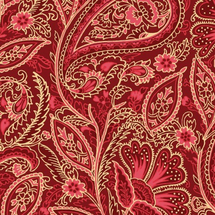Glad Tidings Metallic 9823-R Red