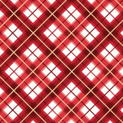 Glad Tidings Metallic 9824-R Red