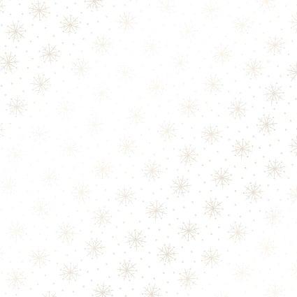 Snowflakes Ultra White<br/>Maywood Studio P122-UW