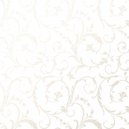 Scroll Ultra White<br/>Maywood Studio P127-UW