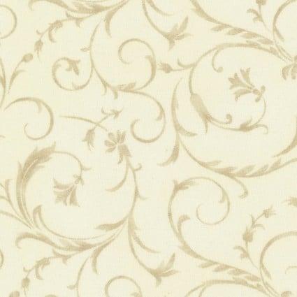 Maywood Studio 108 Beautiful Backing Elegant Scroll Ivory Lace MASQB100-E