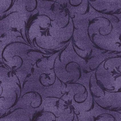 Beautiful Backing 108 Purple Swirls