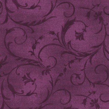 108in Beautiful Backing - Plum<br/>Maywood Studio QB100-VR