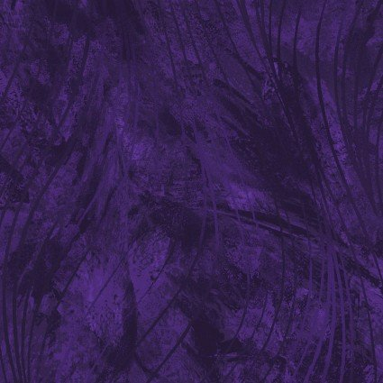 Go With the Flow (108 Beautiful Backing), Purple, MASQB102-VJ