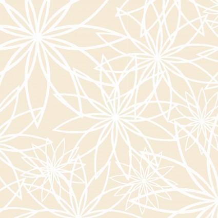108 Beautiful Backing Star Flower Cream