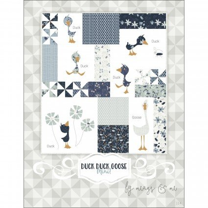 Duck Duck Goose Mini Quilt Pattern by Meags and Me