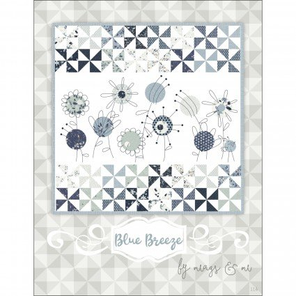 Blue Breeze Quilt Fabric by Meags and Me