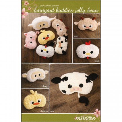 Barnyard Buddies Jelly Bean Pillow