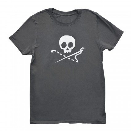 Sewing Skull T-Shirt
