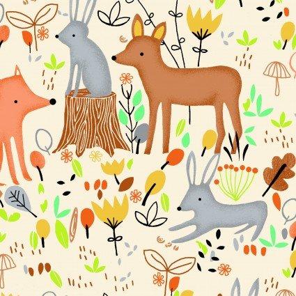 Comfy Flannel Prints Woodlen Scene