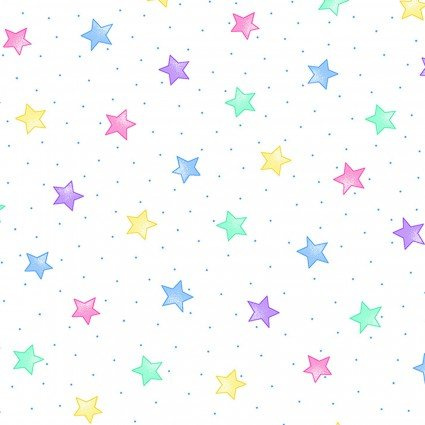 Comfy Flannel Prints Pastel Stars