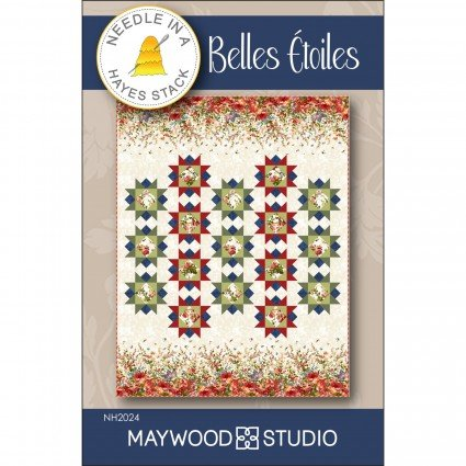 Belles Estoiles - star pattern by Tiffany Hayes