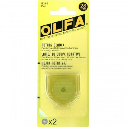 Olfa Rotary Blade 28mm/ 2 Pak