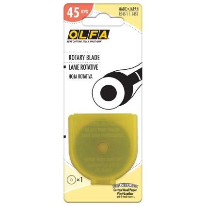 OLFA ROTARY BLADE 45MM - 1 PACK