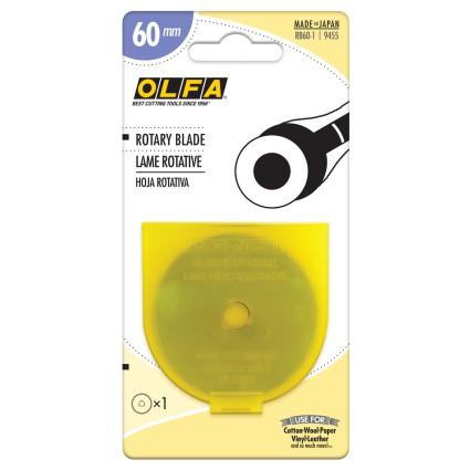 OLFA ROTARY BLADE 60MM - 1 PACK