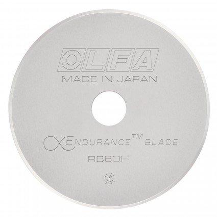 Olfa Rotary Blade Endurance 60mm 1 count