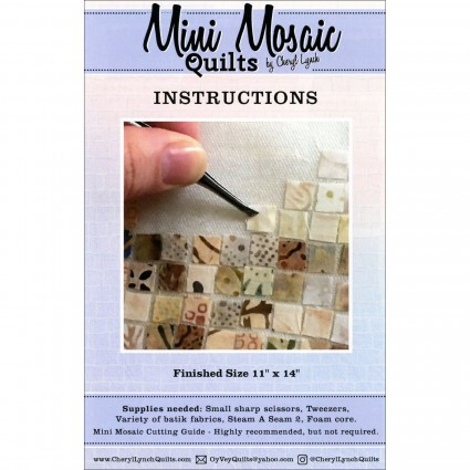 Mini Mosaic Cutting Guide And Instructions