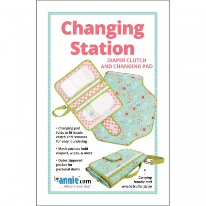 Diaper Clutch & Changing Pad