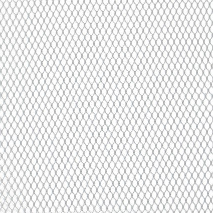 By Annie Mesh Fabric  - 18x54 -  Pewter