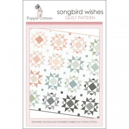Songbird Wishes, Paper Pattern, by Poppie Cotton