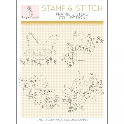 Stamp & Stitch - Prairie Sisters