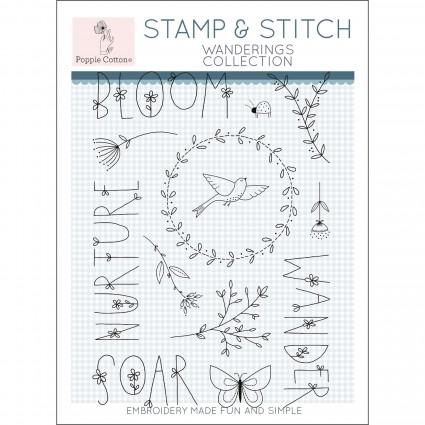 Stamp & Stitch - Wanderings