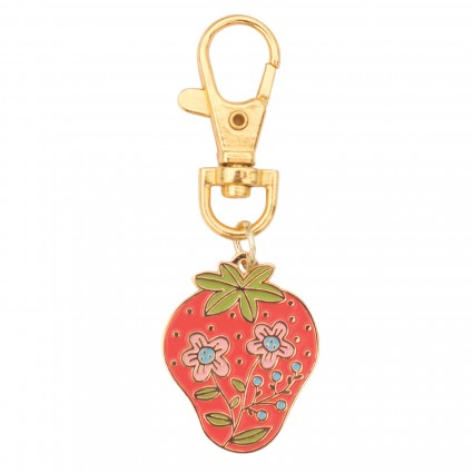 Zipper Pull Charm - Strawberry