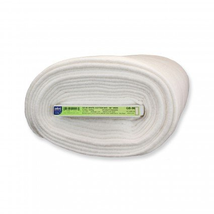 Nature's Touch Bleached 100% Cotton  with Scrim - Mini Roll - 96 x 9 Yards