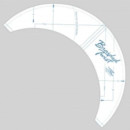 Braided Twist Ruler