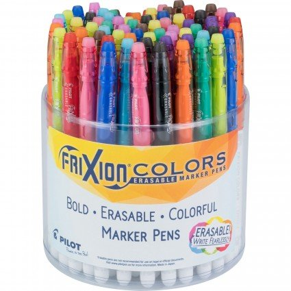 FriXion Pens Assorted Bold Erasable Colorful Marker Pens