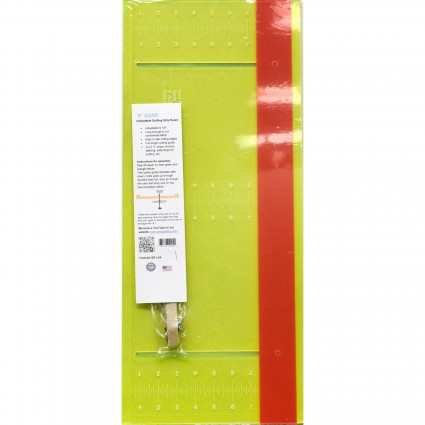 Adjustable Quilt Strip Ruler - Glow Edge 8 x 23.5