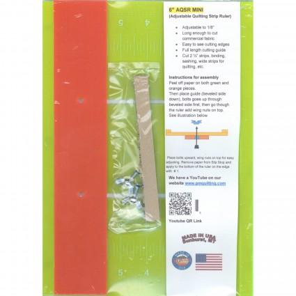 6 AQSR Mini Ruler - Glow Edge
