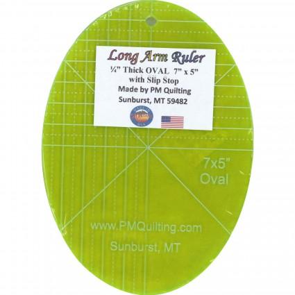 5x9 Oval LA Ruler