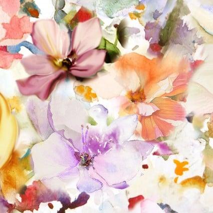 108 Arabesque Bright Floral